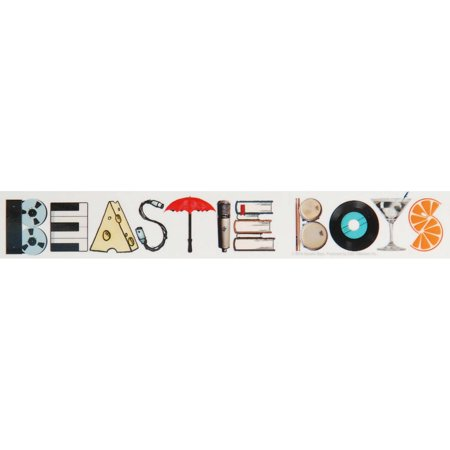 Beastie Boys Sticker (Beastie Boys Sauce)