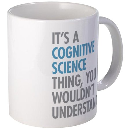 CafePress - Cognitive Science Thing Mugs - Unique Coffee Mug, Coffee Cup CafePress - Science Cup