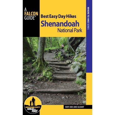 Best Easy Day Hikes: Best Easy Day Hikes Shenandoah National Park (Paperback) Shenandoah National Park Map