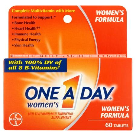 One A Day femmes supplément multivitamines / comprimés, 60 count