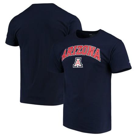 Arizona Wildcats Russell Crew Core Print T-Shirt - Navy