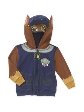 Paw Patrol Chase Costume Zip-Up Hoodie Sweatshirt (Toddler Boys)