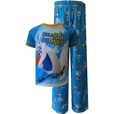 Disney Frozen Olaf Wild For Summer Toddler Pajama - Summer Olaf