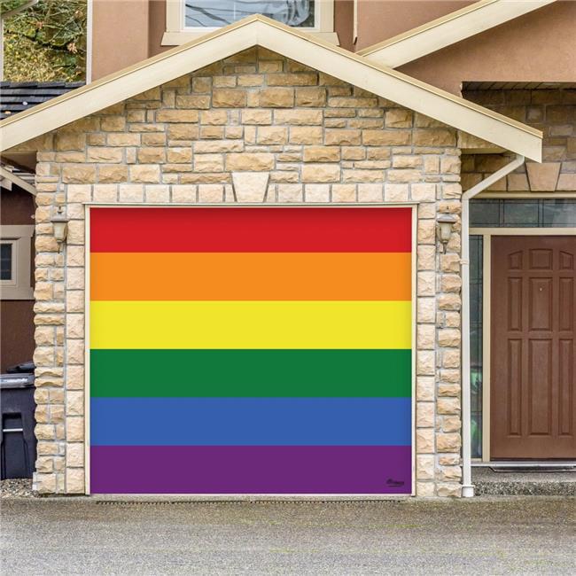 My Door Decor 285903prde 001 7 X 8 Ft Original Pride Outdoor Lgbt Door Mural Sign Car Garage Banner Decor 44 Multi Color Walmart Com Walmart Com