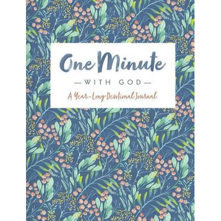 One Minute with God - A Year Long Devotional (Gods Promises Devotional Journal)