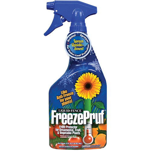 Liquid Fence 1012 32 Oz Liquid Fence FreezePruf Frost Protector RTU
