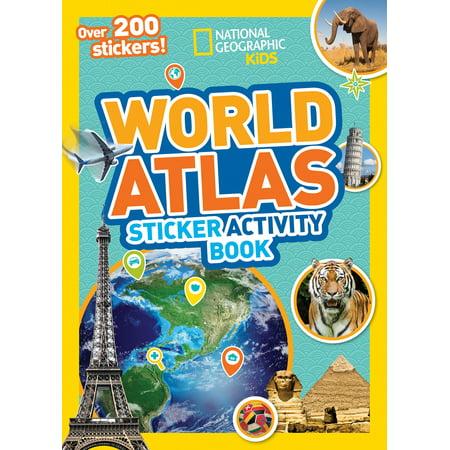 World Atlas Sticker Activity - Sticker Atlas