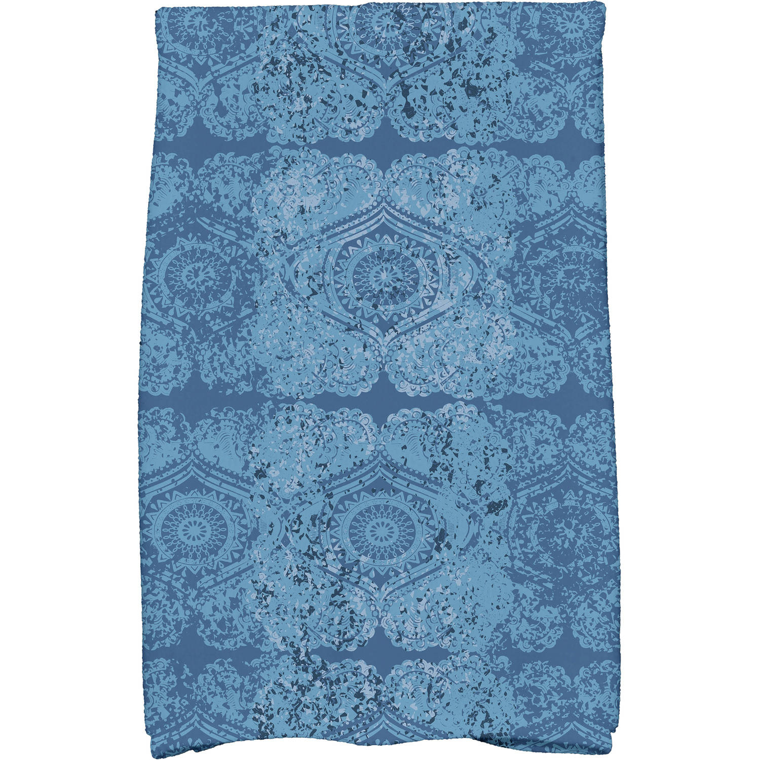 """Simply Daisy 16"""" x 25"""" Patina Geometric Print Kitchen Towel by E By Design"""