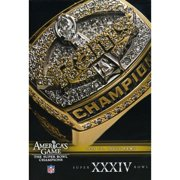 NFL Americas Game: St. Louis Rams Super Bowl XXXIV (Full Frame) by