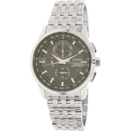 Citizen Eco Drive World Chronograph A T Mens Watch At8110 53E