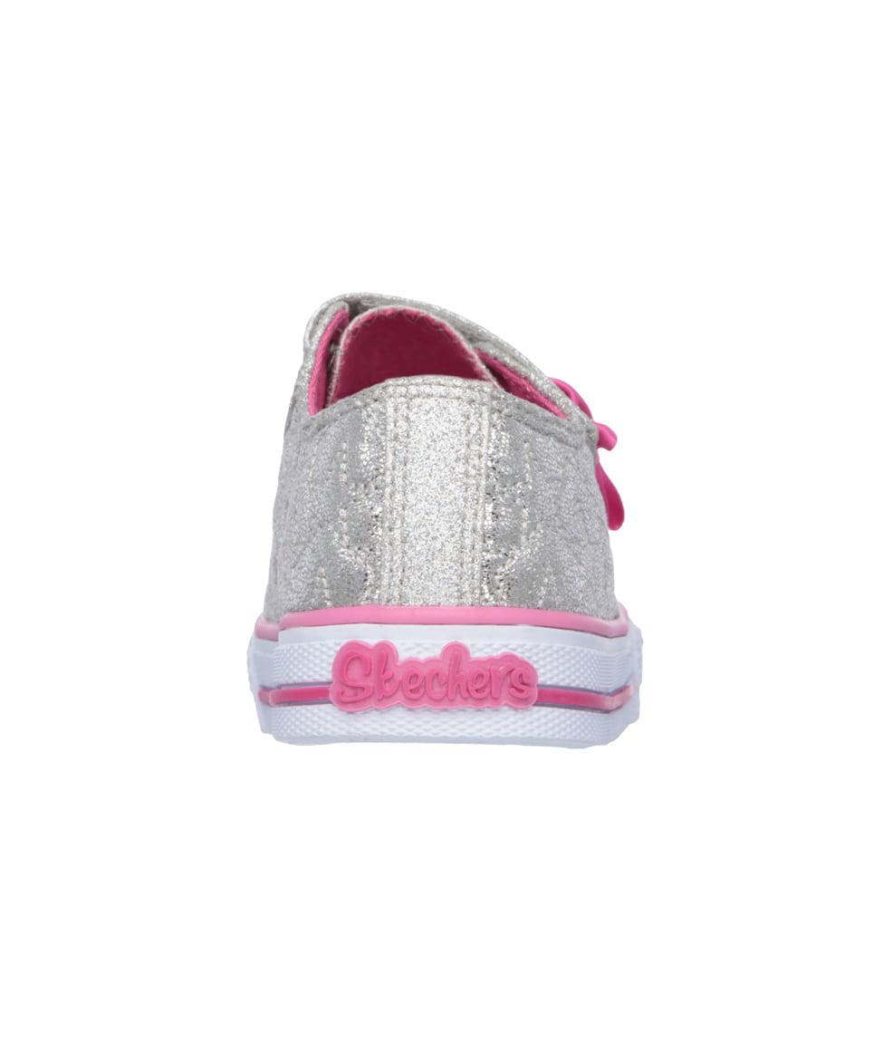 fc07afe9127f0 Skechers - Skechers 10600N SLHP Girl s Toddler SHUFFLES - STARLIGHT STYLE  Sneaker - Walmart.com