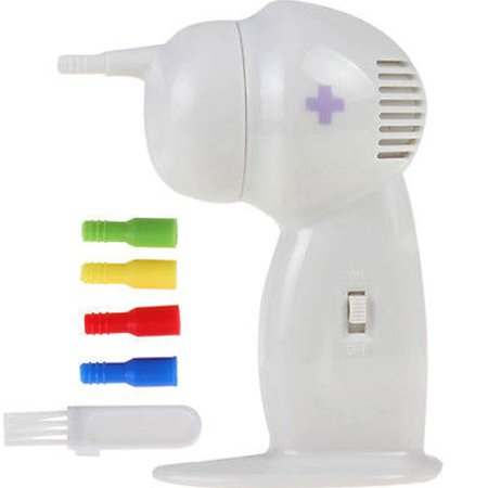 Electric Cordless Ear Cleaner Wax Eliminator Vacuum