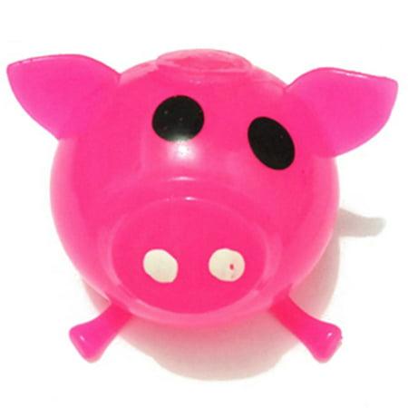 KABOER Pig Year Toys 1Pc Anti-Stress Splat Ball Pig Toys Squeeze Squishy Pigs - Splat Toys