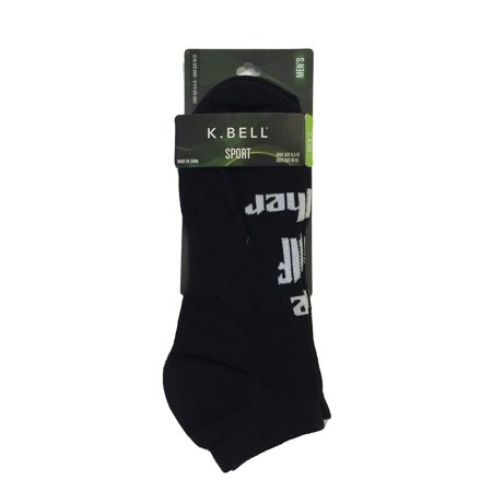 K. Bell Men`s Golf No Show Socks, KGMS16C001-01, 10-13, The Golf Father