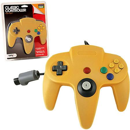 TTX Tech N64/Nintendo 64 Classic Controller OG, Yellow