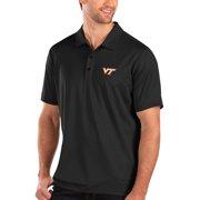 Virginia Tech Hokies Antigua Balance Polo - Black