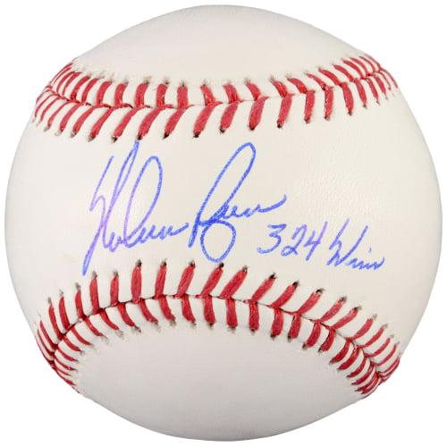 Nolan Ryan Texas Rangers Fanatics Authentic Autographed Baseball with 324 Wins Inscription - No Size