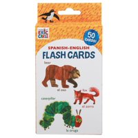 World of Eric Carle (TM) Spanish-English Flash Cards : (Bilingual Flash Cards for Kids, Learning to Speak Spanish, Eric Carle Flash Cards, Learning a Language)