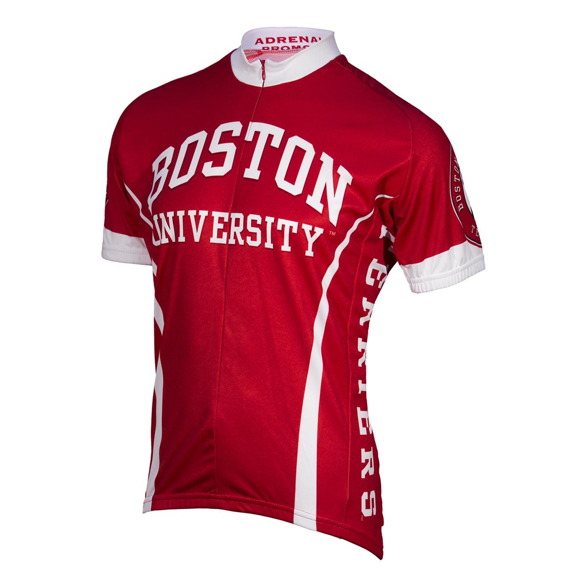 Image of Adrenaline Promotions Boston University Short Sleeve Cycling Jersey