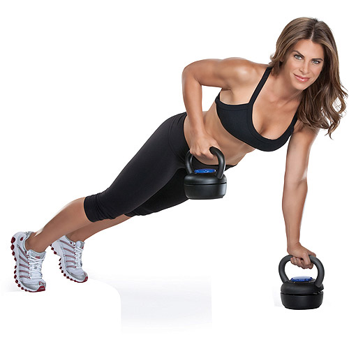 Jillian Michaels Kettlebell Push-Up Bars Set