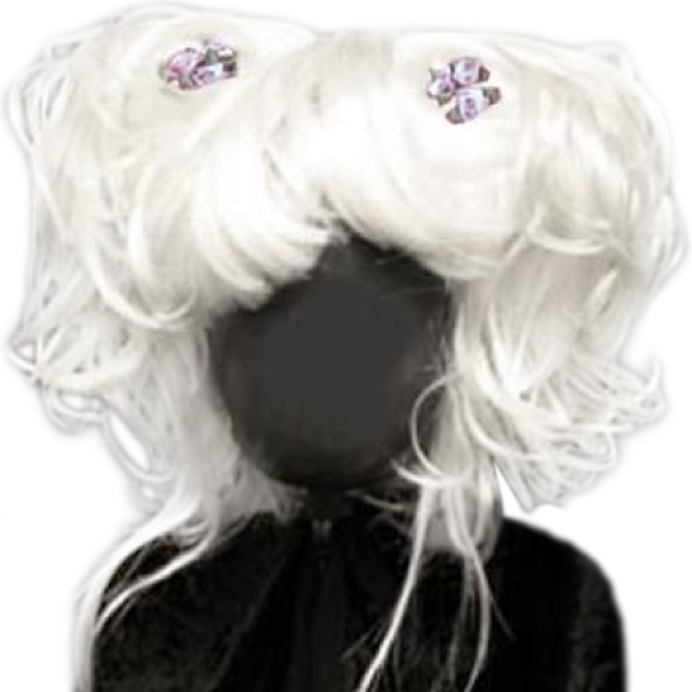 Alicia Beauty Karmae Wig - White