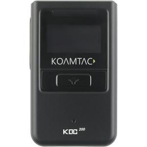 KoamTac KDC200iM Bluetooth Barcode Scanner - Wireless Connectivity - 100 scan/s1D - Laser - Bluetooth BLUETOOTH OLED SCREEN