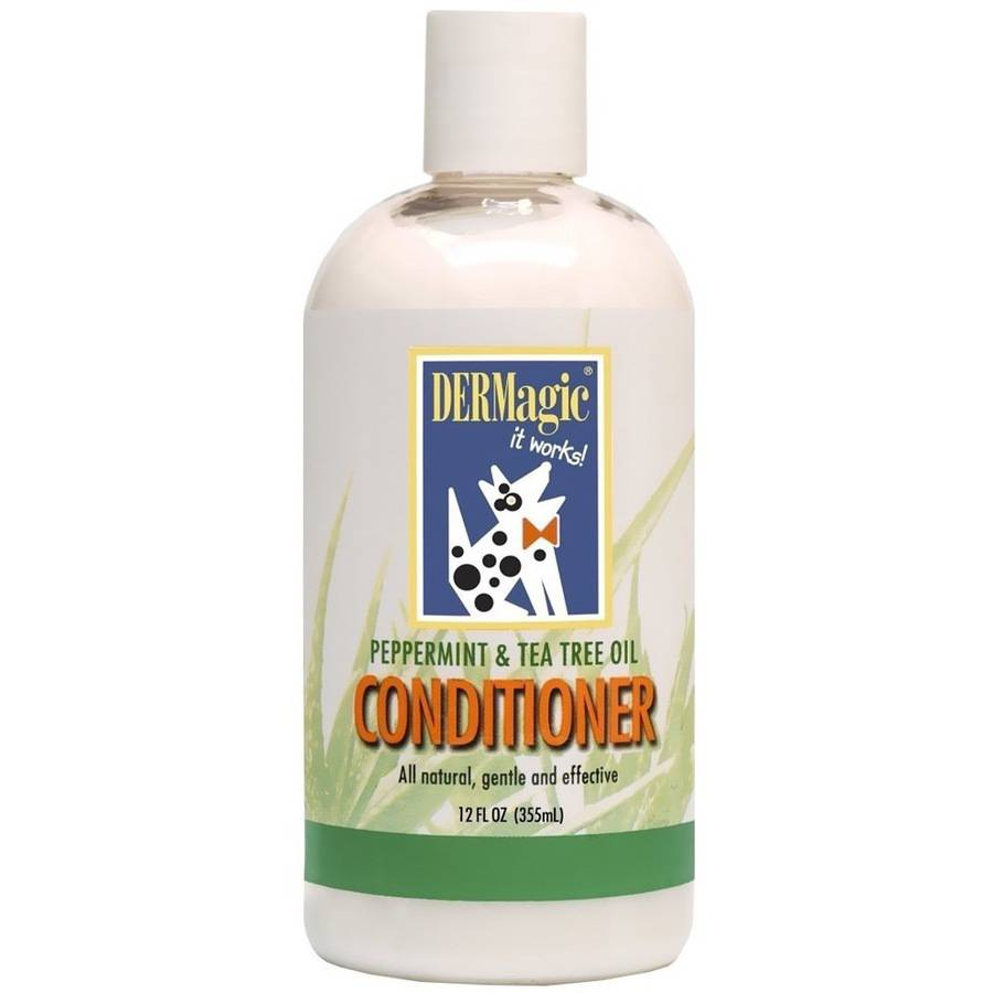 DERMagic Peppermint And Tea Tree Oil Conditioner, 12 Oz