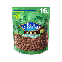 Blue Diamond Almonds Bold Wasabi & Soy Sauce, 16 Oz.