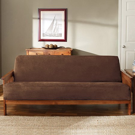 Sure Fit Soft Suede Futon Slipcover (Wizard Futon Cover)