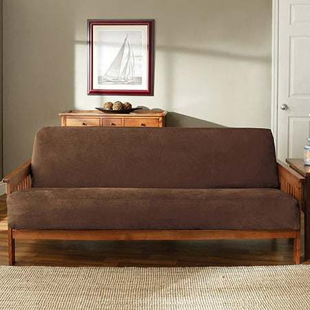 Cream Futon Cover (Sure Fit Soft Suede Futon Slipcover)