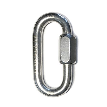 Stainless Steel 316 Quick Link 3/8