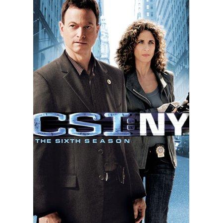 Csi  Ny  The Sixth Season  Widescreen