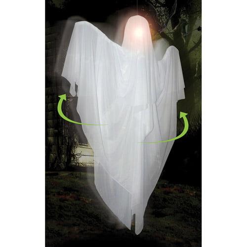 5' Hanging Rotating Ghost Halloween Decoration