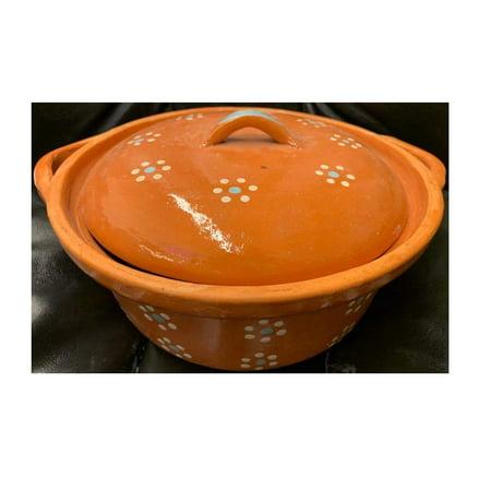Made in Mexico Cazuela Raya Verde Bowl 12