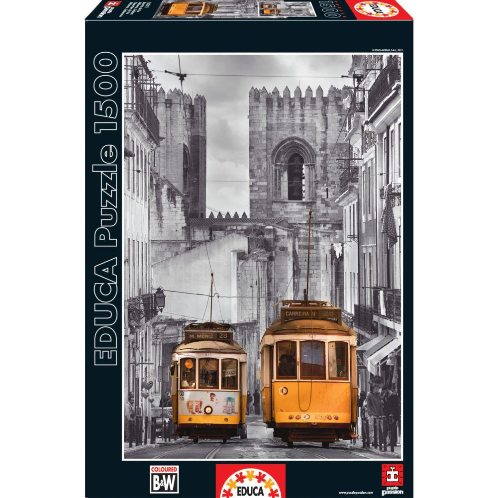 Lisbon 1500 Piece Puzzle,  More Europe by John N. Hansen
