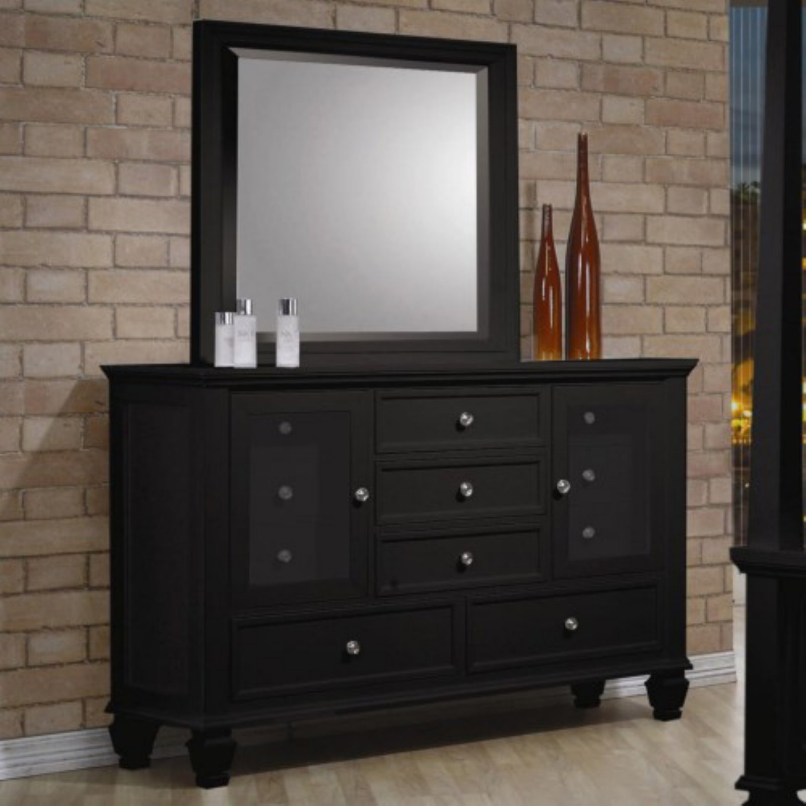 Coaster Company Sandy Beach Dresser, Black