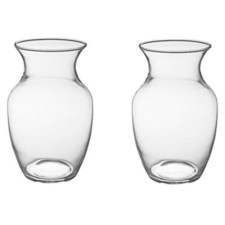 8 Glass Rose Vase Case Of 2 999 By Oasis Floral Products
