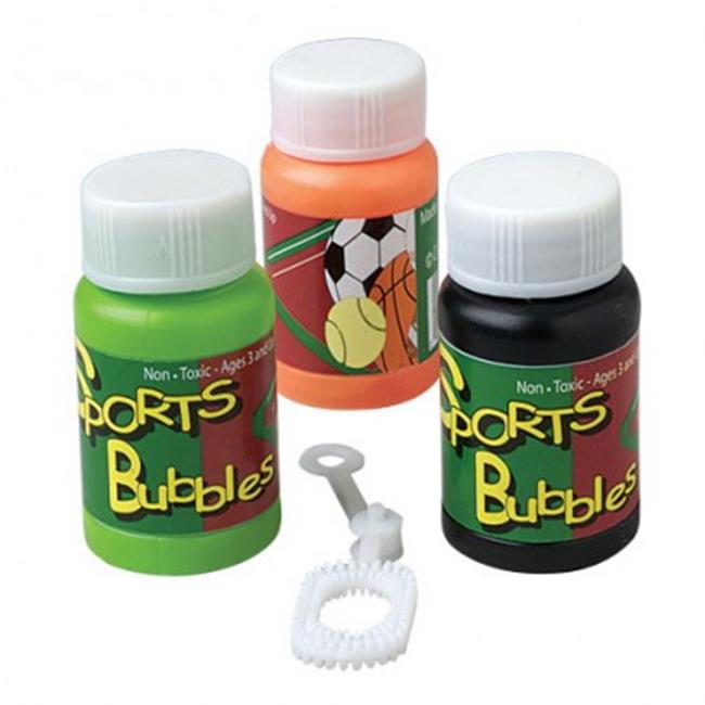 US Toy Company MU716X8 1 oz Sports Bubbles, 24 Piece - 8 ...