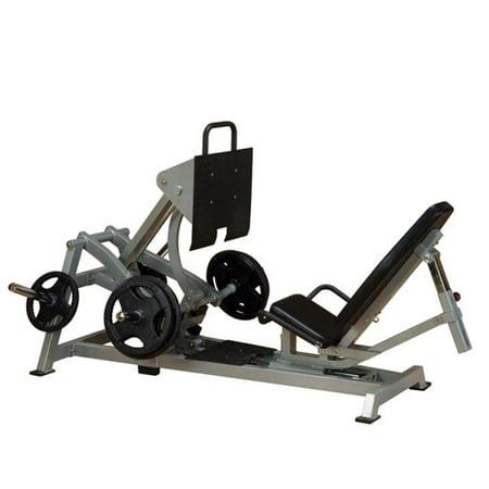 Leverage Horizontal Leg Press Exercise Machine (Horizontal Leg Press Vs 45 Degree Leg Press)