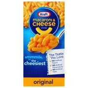 Kraft Original Flavor Mac and Cheese, 7.25 oz Box