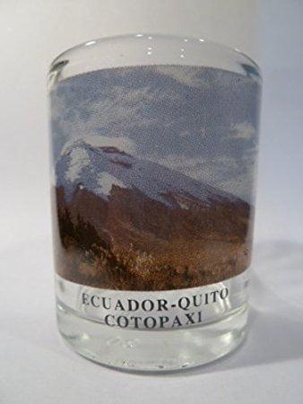 Ecuador Quito Cotopaxi Shot Glass by World By Shotglass