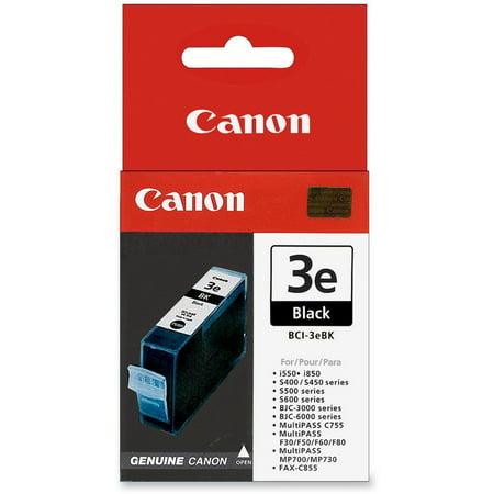 Bci 24 Colour Ink (Canon BCI3EBK (BCI-3E) Ink, Black )