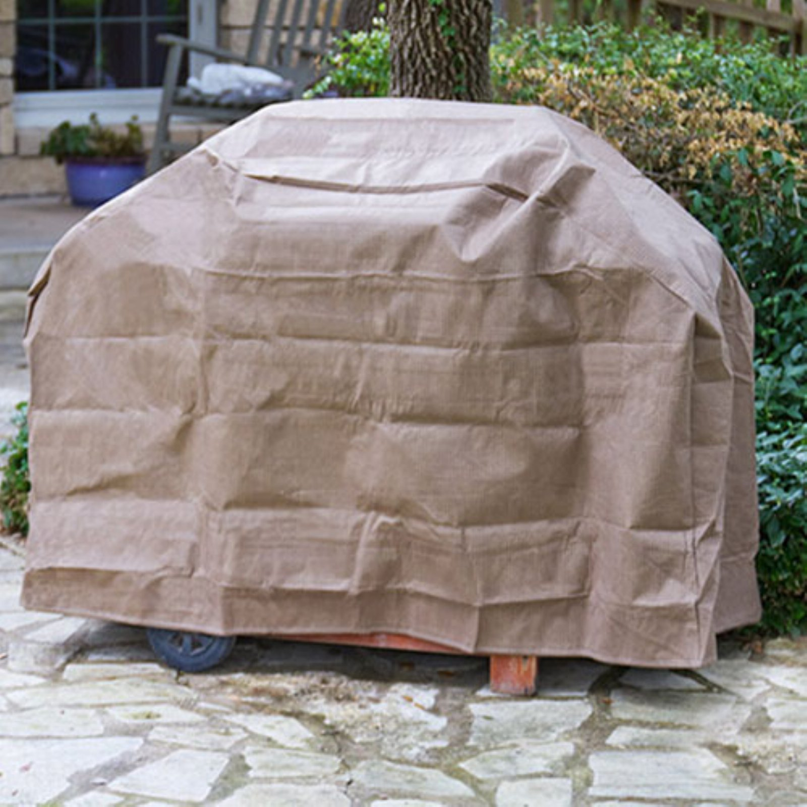 KoverRoos KoverRoos III Taupe Barbecue Cover