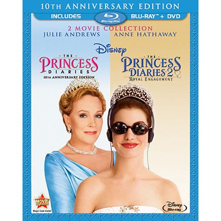 The Princess Diaries Collection (10th Anniversary Edition) (Blu-ray + DVD) (Princess Movie Collection)