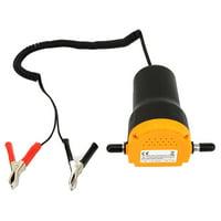 FAGINEY 60W Car Oil Pump, Car Oil Extractor Pump,Mini Car Oil Diesel Suction Extractor Transfer Pump 12V 60W