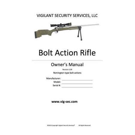 Bolt Action Rifle Owner's Manual - eBook