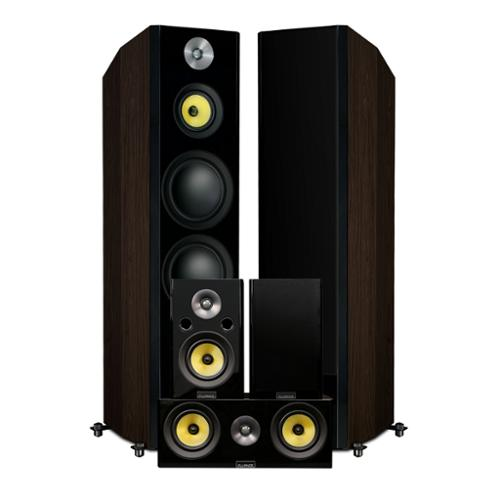 Fluance Signature Series Hi-Fi 5.0 Surround Sound Home Theater Speaker System - Floorstanding