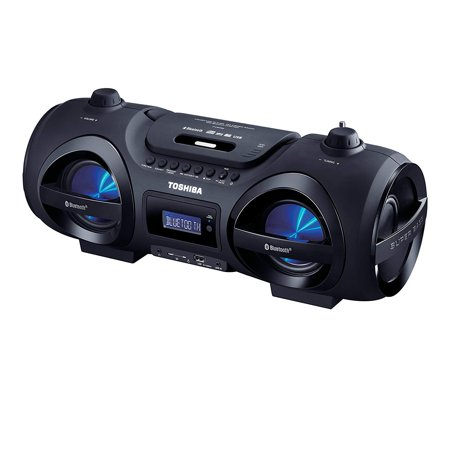Toshiba Portable Digital Tuner AM/FM Radio Cd Player Mega Bass Reflex Stereo Sound System Coby Digital Tuner Cd Player