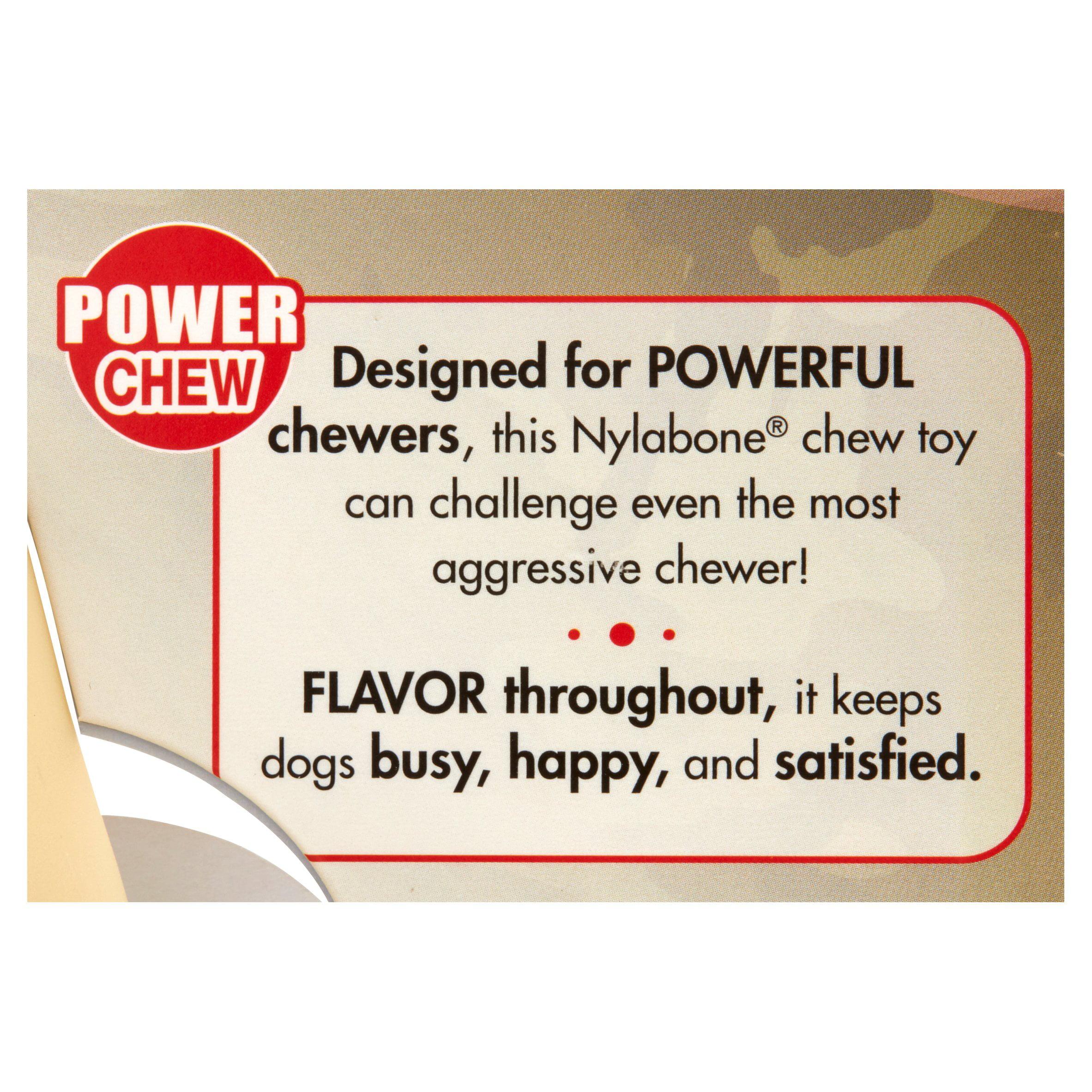 Juguete Para Perros Nylabone Power Chew Rawhide Roll Dog Toy, Chicken Flavor, X-Large + Nylabone en VeoyCompro.net