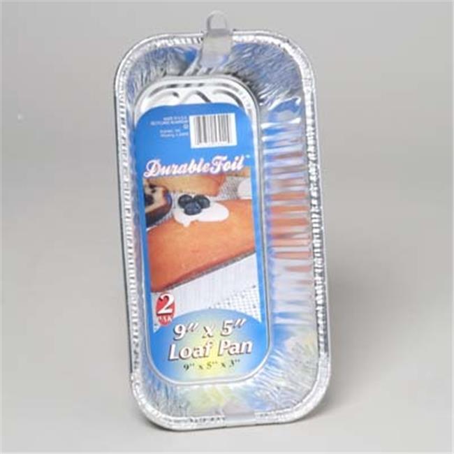DDI 1266814 Aluminum Loaf Pan 2 Pack Case Of 12